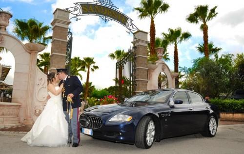 auto per matrimonio napoli